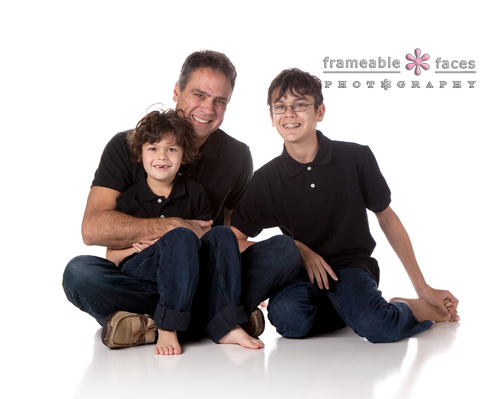 Family Portrait, Frameable Faces Photography, West Bloomfield Photographer