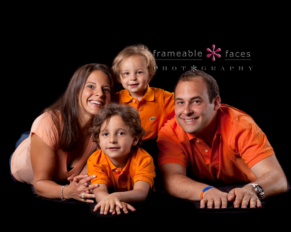 Family Portraits, Frameable Faces Photography