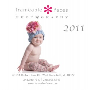 Frameable Faces Photography Brochure 2011