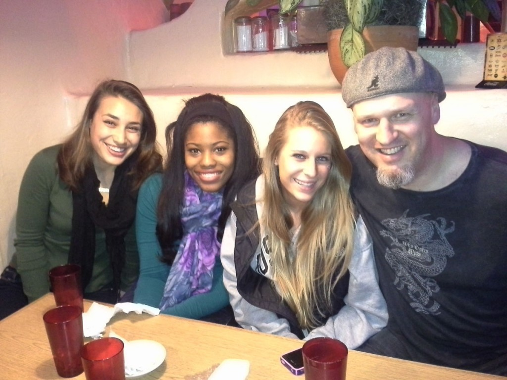 Doug with Jessica, Chelsea and Lainie