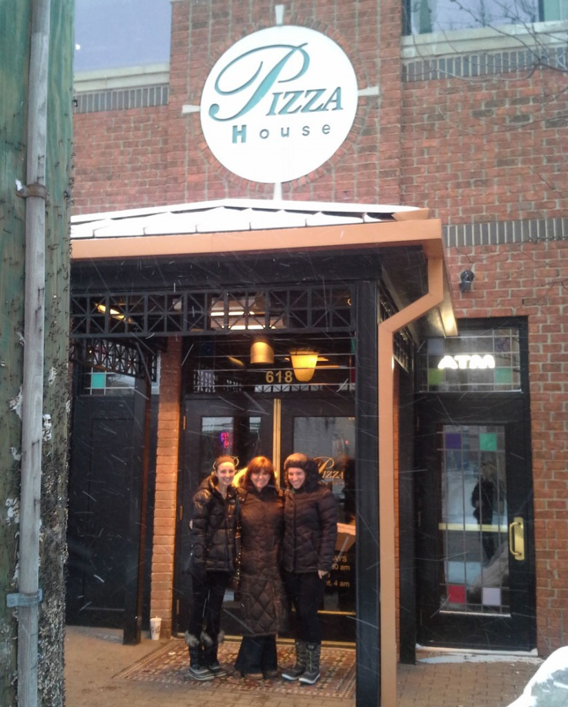 The Frameable Faces Campus Tour checks in at Pizza House!