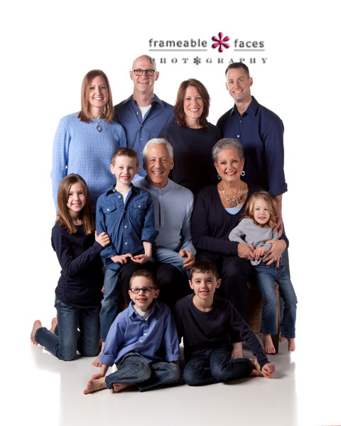 Multi-generational Family Portrait