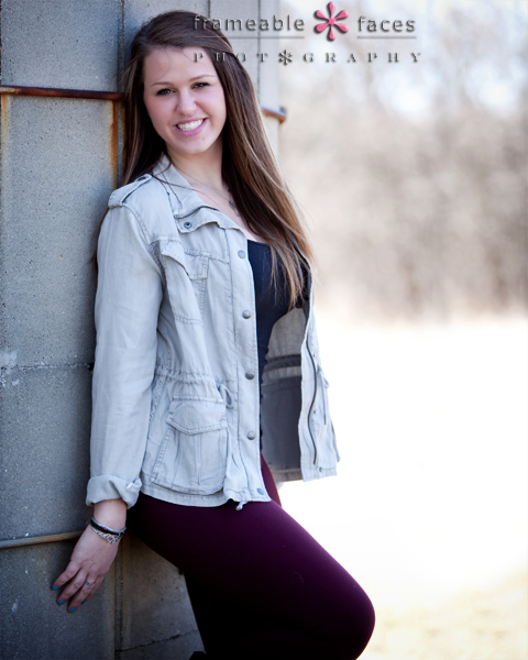 Frameable Faces Senior Spokesmodel Picture Class of 2014