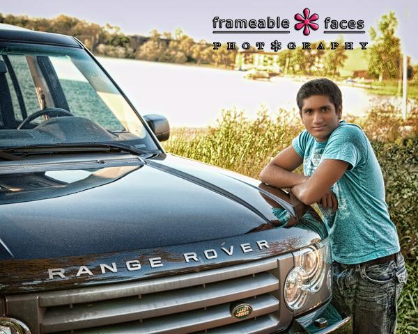 Senior Picture - Frameable Faces
