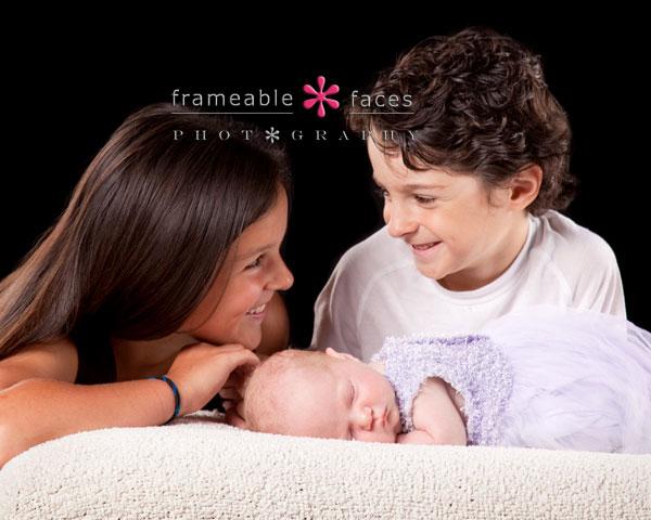 Older Siblings with Newborn