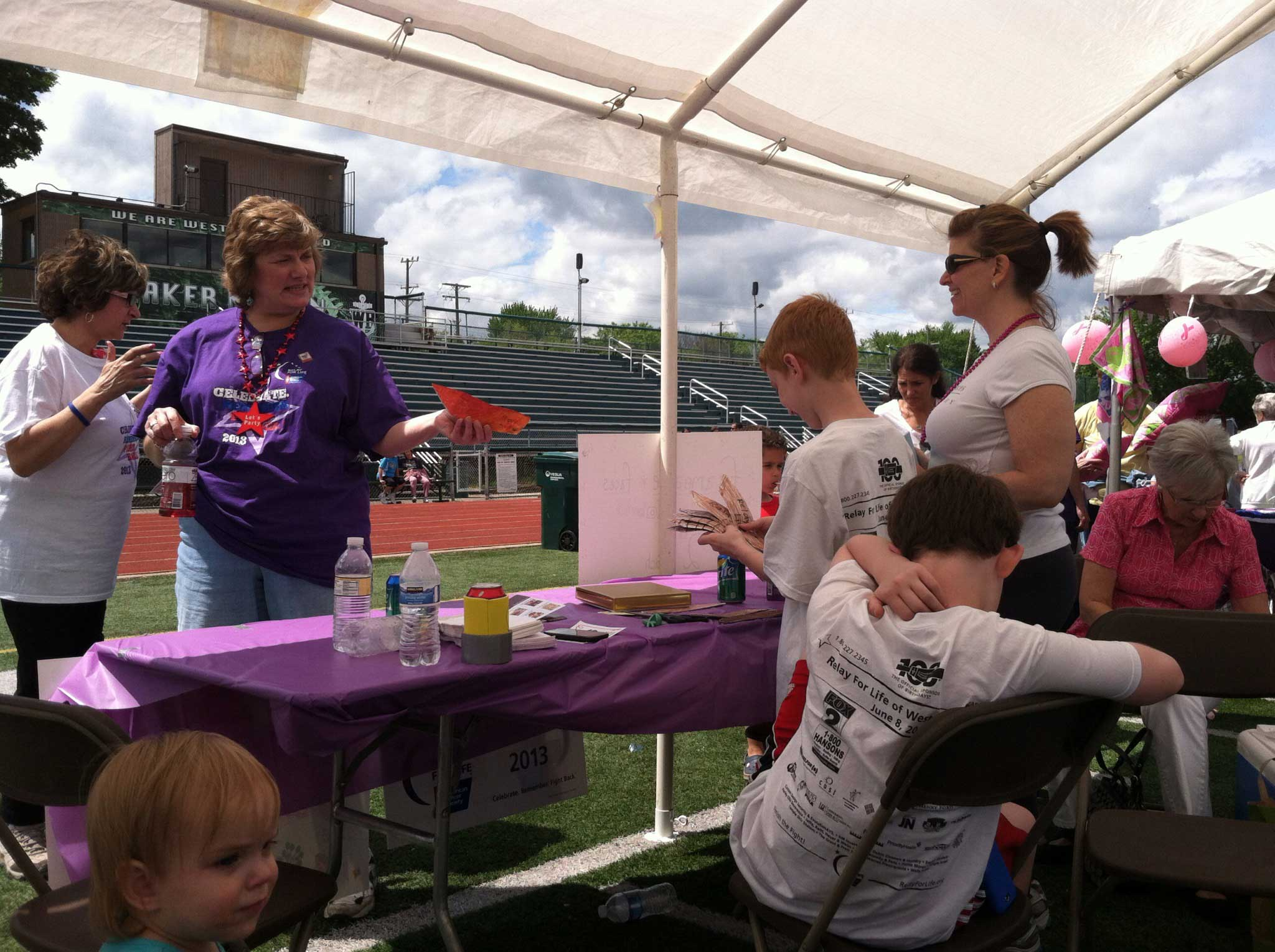 Relay For Life West Bloomfield 2013