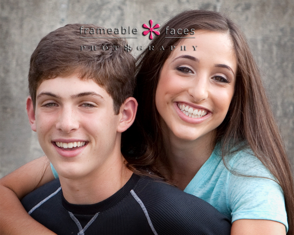 Sibling Senior Picture