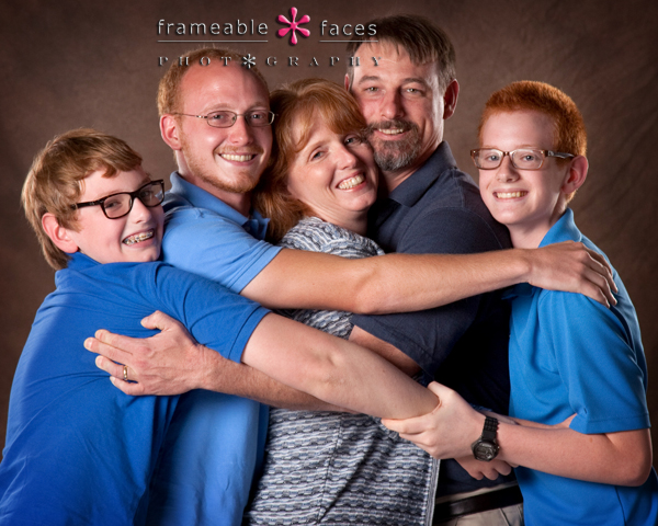 "Family Portrait - ""The Hug"""