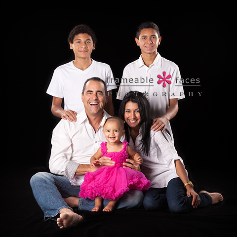 Family Picture at Frameable Faces Photography