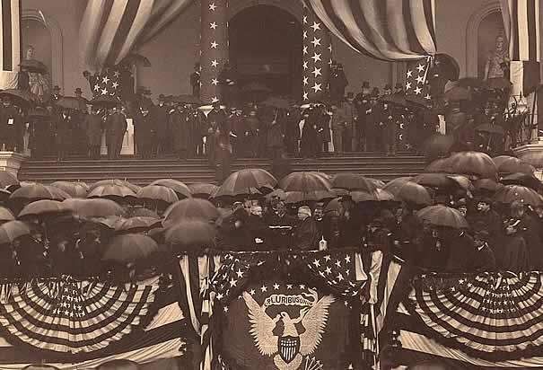 President Benjamin Harrison inauguration