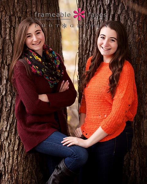 twin sister seniors