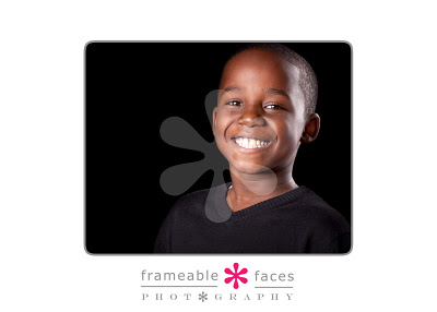 Frameable Faces Family Photography
